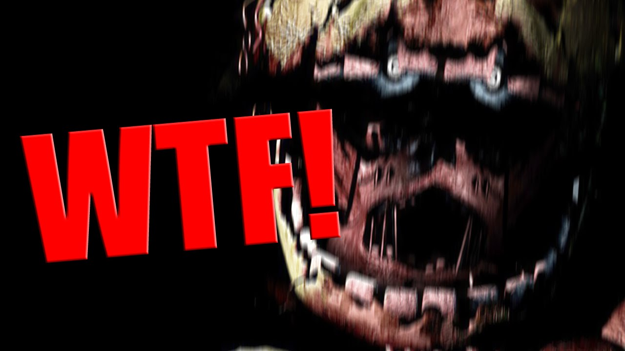 Five nights at freddy s 3 purple man springtrap dead screen
