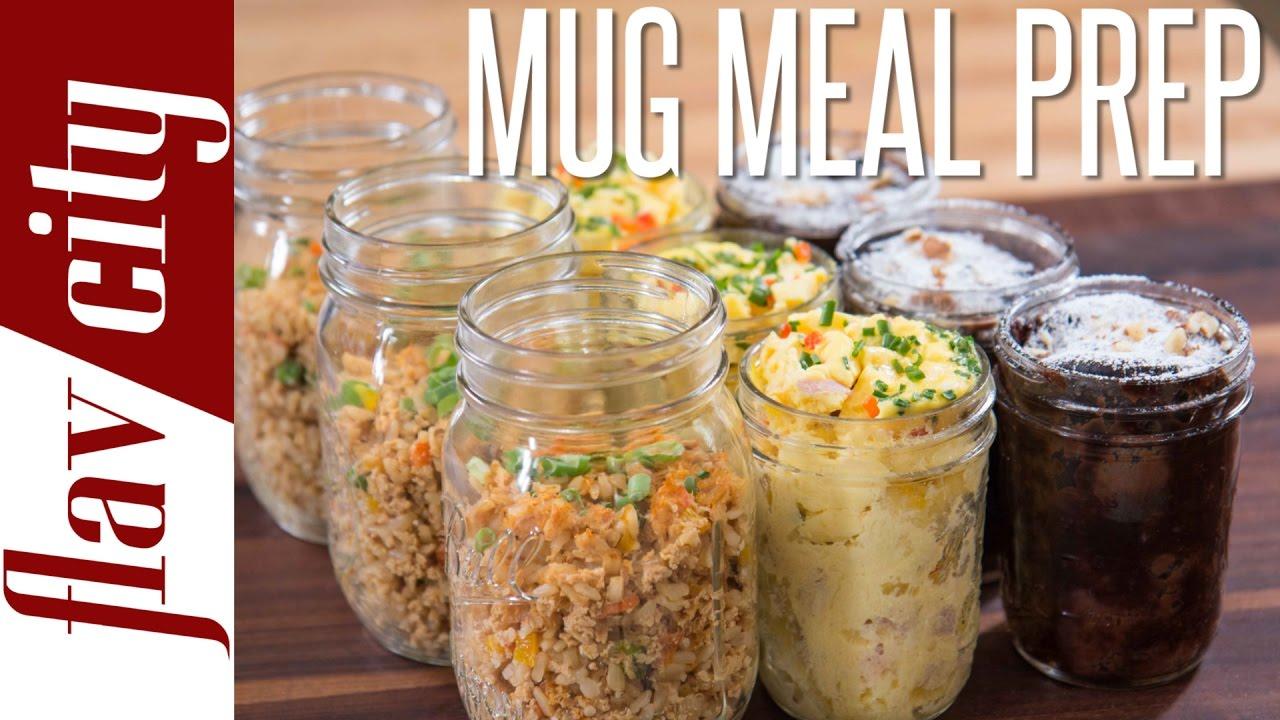 3 tasty microwave mug recipes easiest meal prepping ever