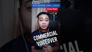 New Voiceover Challenge: TV Commercial (Duet this on Tiktok)