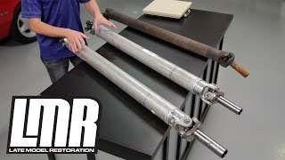 Mustang Aluminum Driveshaft Review - Ford Racing M-4602-G & M-4602-J