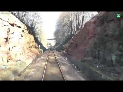 Führerstandsmitfahrt - BR VT 628  - von Kaiserslautern Hbf nach Bingen Hbf - DB Bahn Nr.61