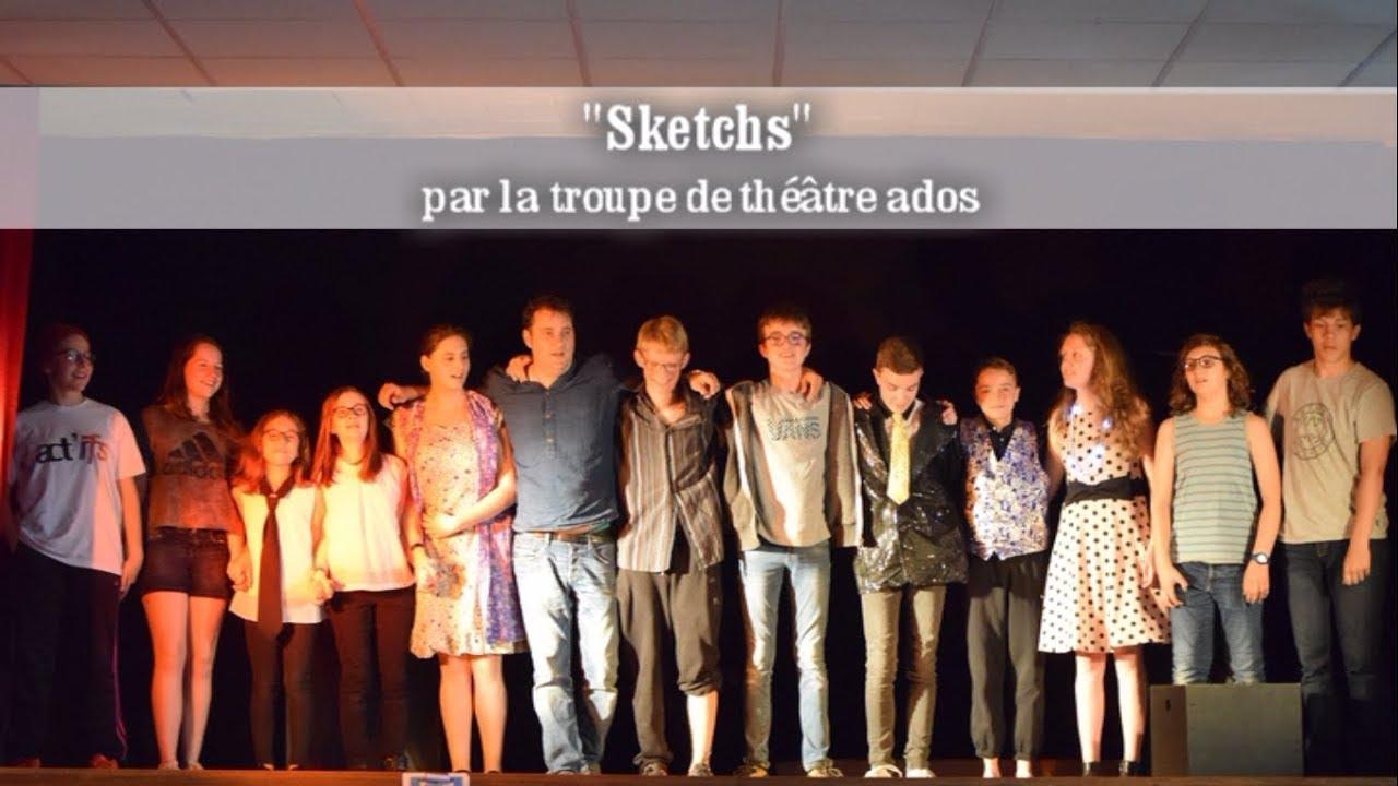 Extrait - Sketchs - Théâtre Enfants 2018