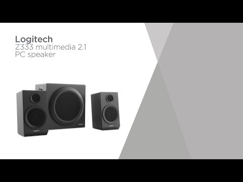 Logitech Z333 Multimedia 2.1 PC Speakers | Product Overview | Currys PC World
