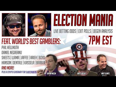 election-mania-feat.-phil-hellmuth,-daniel-negreanu-&-more!-|-market-mania