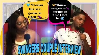 "REAL LIFE ""SWINGERS"" COUPLE INTERVIEW"