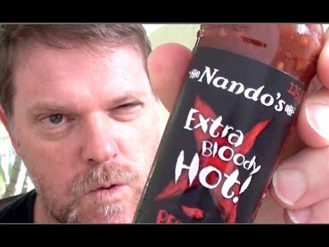 Taste Test - NANDO'S EXTRA BLOODY HOT PERI PERI SAUCE