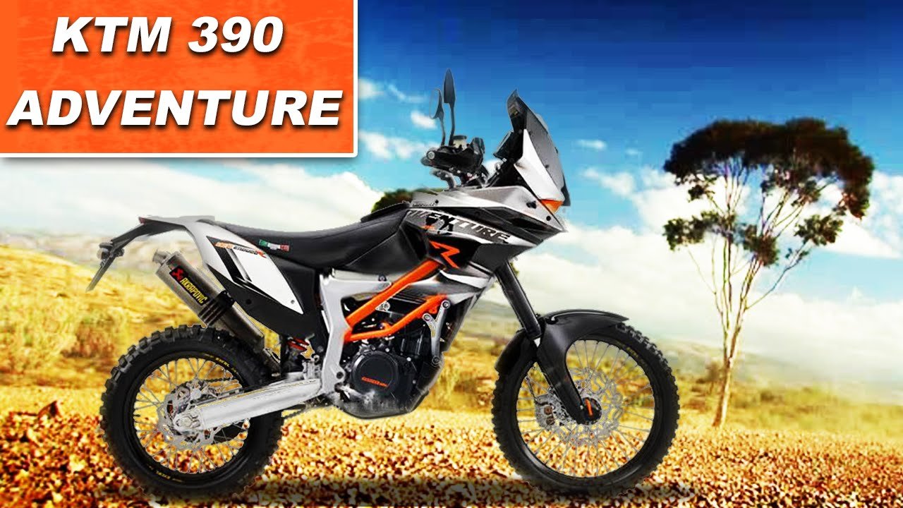 2017 KTM 390 Adventure(Royal Enfield Himalayan Rival) Revealed - YouTube