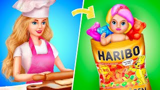 Candy Baby / 12 DIY Barbie Hacks and Crafts