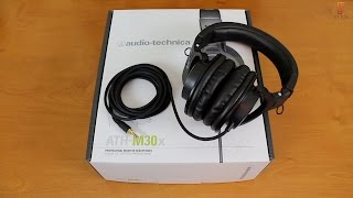 Best Headphones Under $70? Audio Technica ATH M30x Review