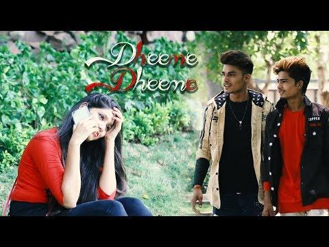 Dheeme Dheeme - Tony Kakkar | Cute Love Story | Chandni Raat Main Gori Ke Saath Me | Love Is Life