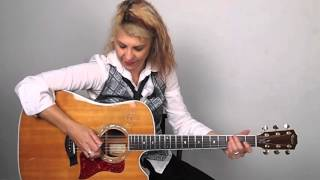 Acoustic Guitar Lesson - #1 Palm Muting - Janet Robin
