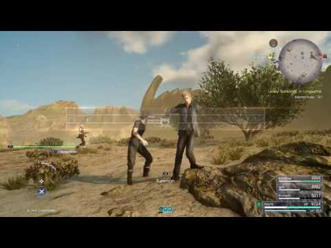 FINAL FANTASY XV Fastest time to beat adamantoise