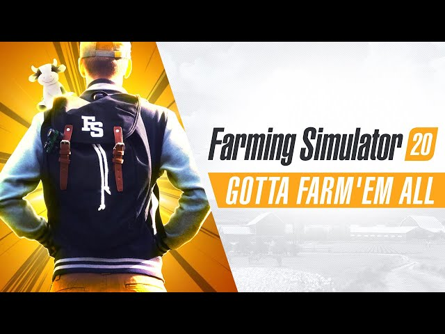 Farming Simulator 20 (видео)