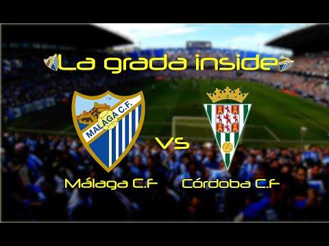 La grada inside Málaga c.f - Córdoba c.f 2018 Diegopro