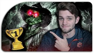 "COWBOY LAND WORLD RECORD?! (Black Ops 2 Zombies ""Buried"" - NO REVIVE CO-OP Attempt)"