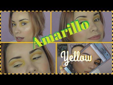 Practicando Ando con: ♡byjeannine// Amarillo //Monkishalala♡