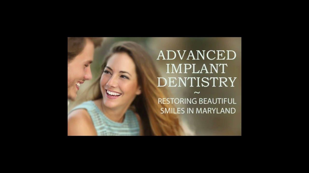 Dr. Dmitry Nova of Nova Dental with Traffic Jimmy of Fox Baltimore discussing dental implants