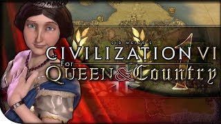 England Gameplay & TSL EUROPE | Civilization VI — For Queen & Country 1 | Play Europe Again King