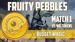 Budget Magic: Modern Fruity Pebbles vs WB Tokens (Match 1)