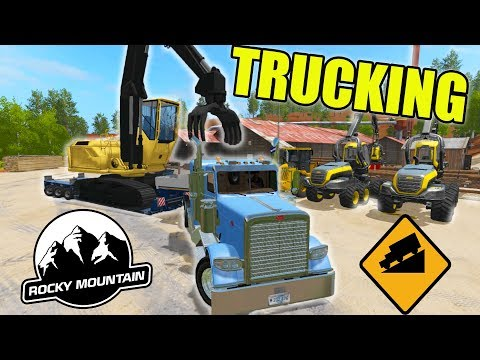 ROCKY MOUNTAIN HAULING | LOGGING EQUIPMENT | COLORADO MAP | FARMING SIMULATOR 2017