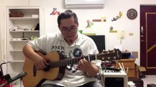 梁靜茹-寧夏(guitar cover) in open D