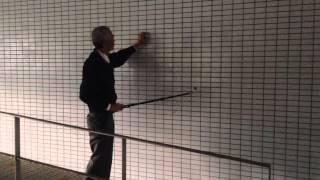 鉄筋かぶり厚探査棒検査方法実践2-2
