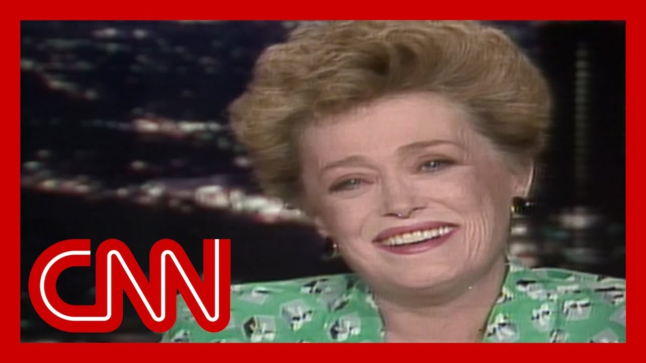 CNN:Rue McClanahan: We have so much fun on 'The Golden Girls' (1988)