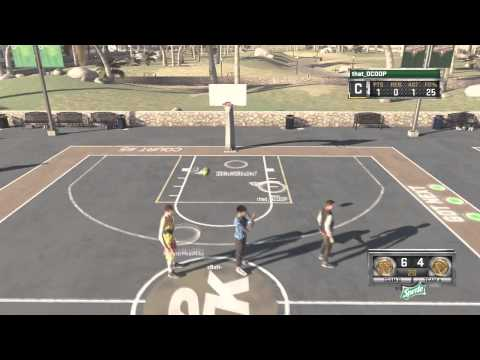 NBA 2K15 Parks Mode - OMFG Crazy INVISIBLE PLAYER GLITCH! GHOSTS IN PARK?