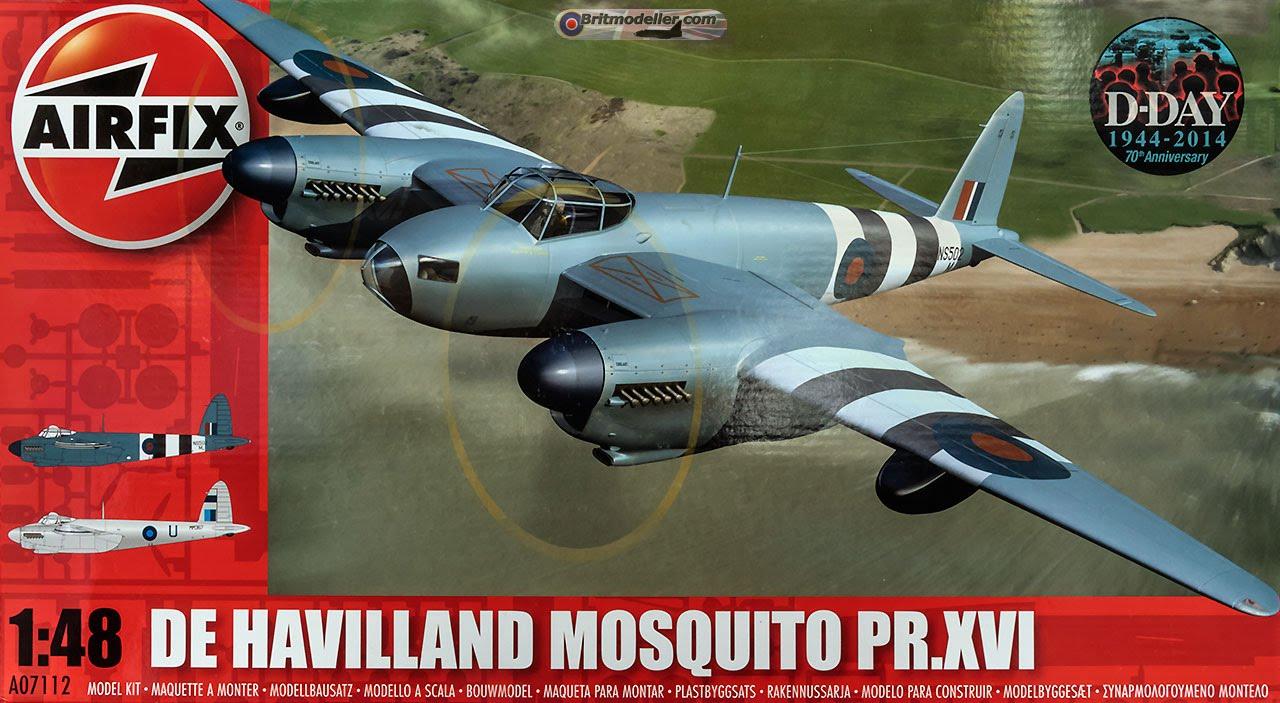 Airfix 1/48 De Havilland Mosquito PR XVI