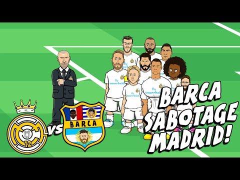 🤣BARCA SABOTAGE MADRID!🤣! El Clasico Preview 2017 Parody Mp3