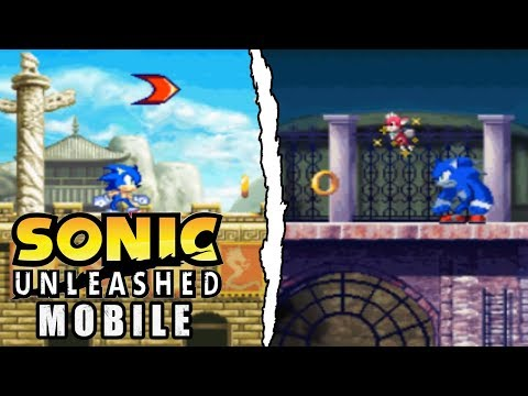 Sonic Unleashed Mobile: Full Playthrough - The 2D World Adventure