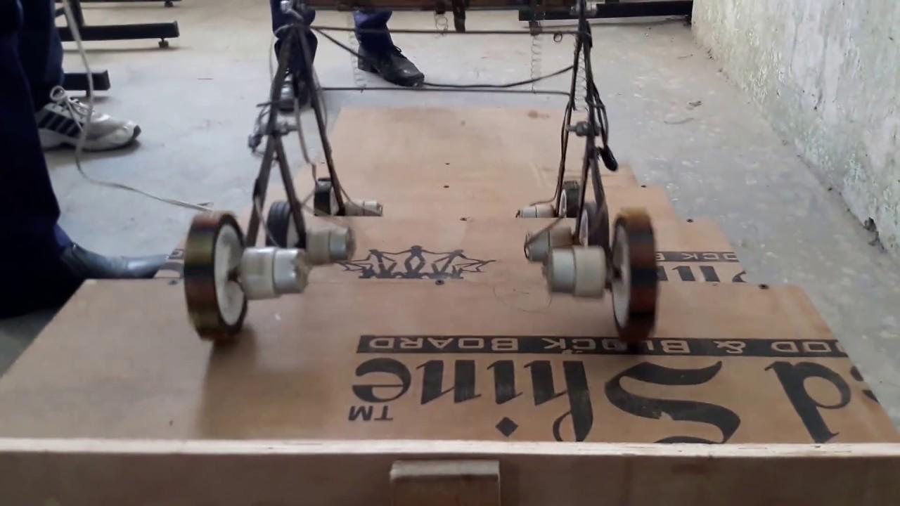 Stair Climbing Chair White Office Staples Wheel On Rocker Bogie Mechanism - Youtube