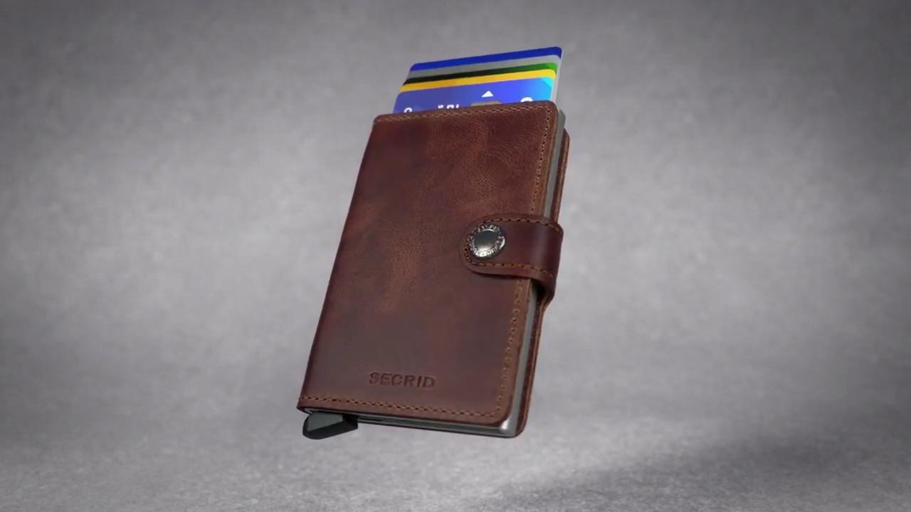 enorme sconto d4f01 c0e1a Porta carte di credito e portafoglio Secrid Miniwallet