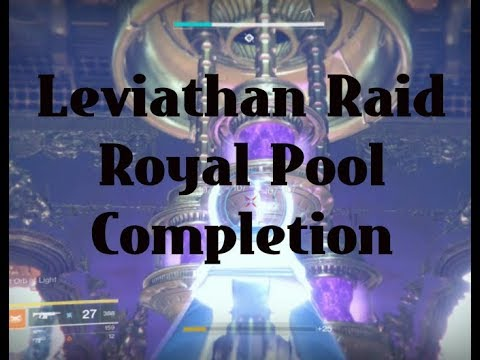 "Destiny 2 Leviathan Raid ""Royal Pool Completed"""