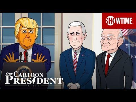 'Space Force' Ep. 10 Extended Sneak Peek | Our Cartoon President | Season 2
