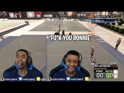 FlightReacts RAGES Playing his Last Game of NBA 2K20 Against Trash Talking Haters |