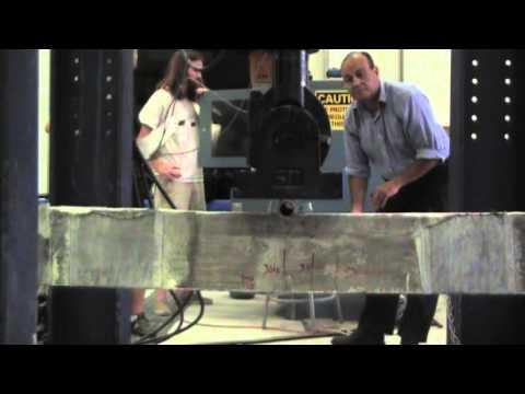 CFRP RC beam testing - Adel ElSafty
