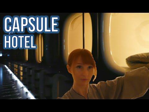 Japanese Capsule Hotel!
