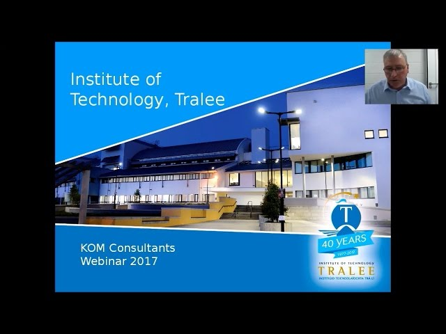 IT Tralee College Transfer Program brought to you by KOM Consultants - March 30, 2017