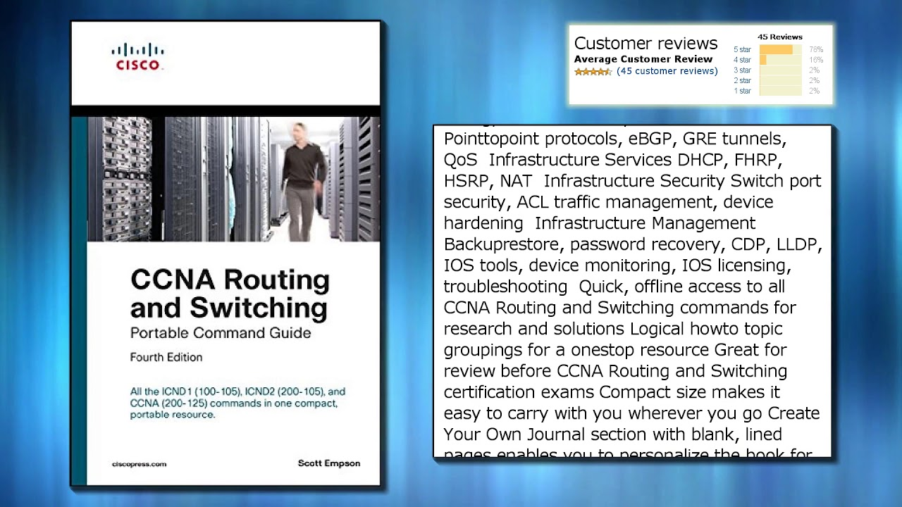 ccna routing and switching portable command guide icnd1 100 105 rh youtube com ccna portable command guide ipv6 ccna portable command guide ipv6