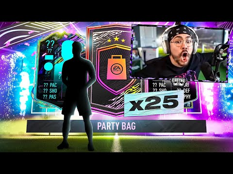 25 PARTY BAG PACKS!! THESE ARE INSANE!! FIFA 21