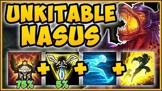 WTF RIOT?? MAXIMUM MOVE SPEED NASUS IS 100% TOO OP! NASUS SEASON 9 TOP GAMEPLAY! - League of Legends