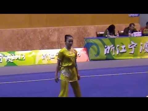 Women's Nanquan - All China Games Wushu Qualifiers, (Ningbo - April 16, 2013)