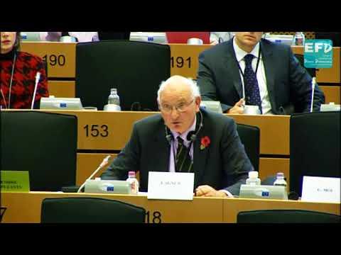 Brexit: 100 billion-euro demand is losing us time on trade talks - Stuart Agnew MEP