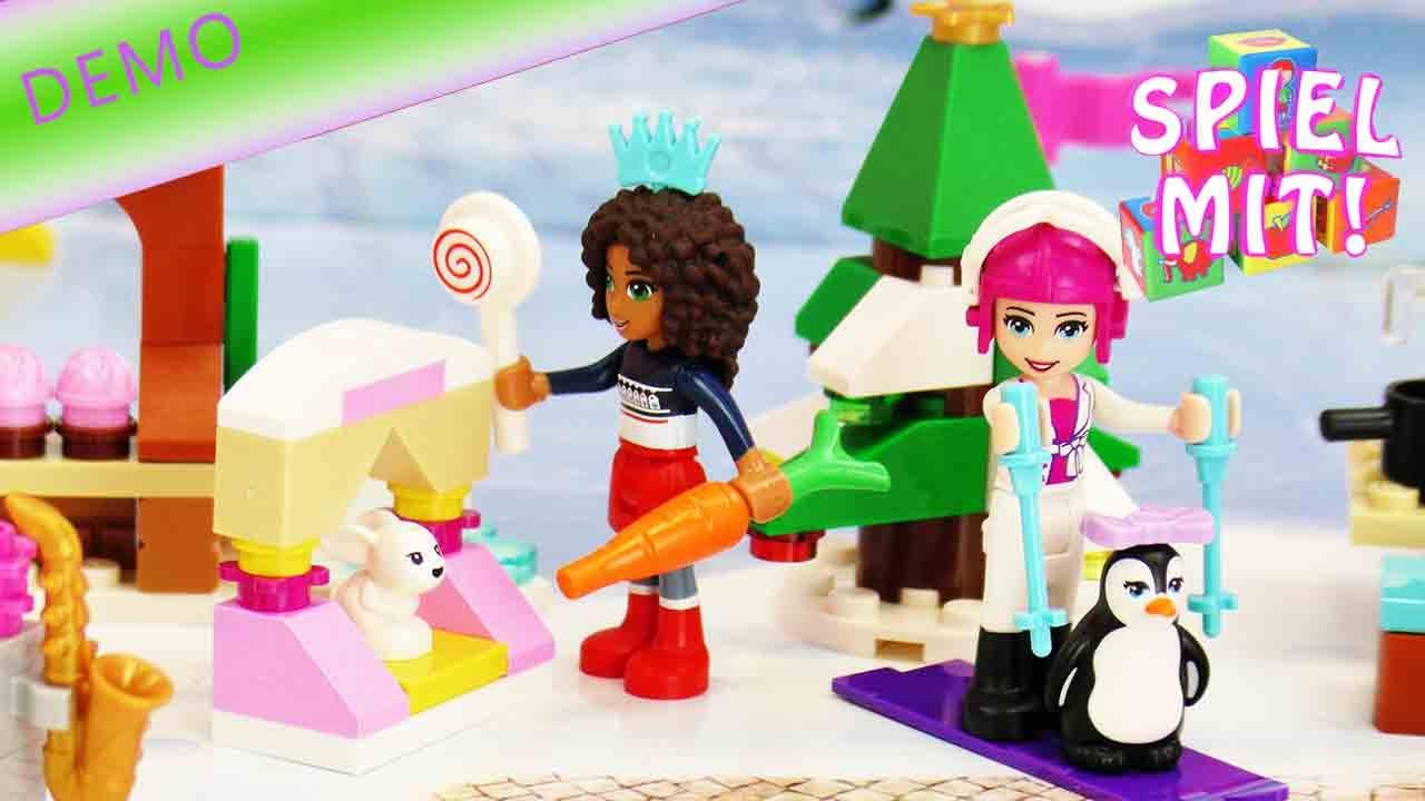 Lego Friends Adventskalender Deutsch  Wir ffnen alle 24 Trchen  YouTube