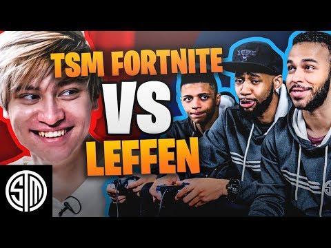 TSM Fortnite vs. TSM Leffen (SMASH BROS. CHALLENGE) thumbnail