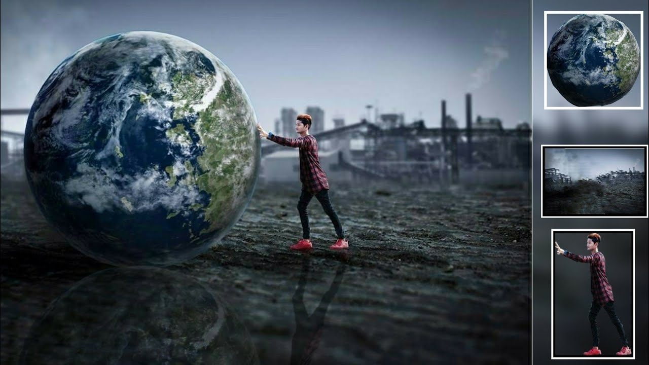 Picsart Earth Boy Background Manipulation Editing New Cb Hd