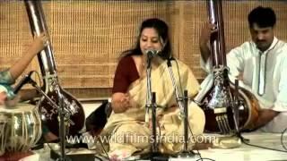Hindustani classical music by Meeta Pandit from the Gwalior Gharana