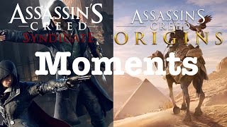 Assassin's Creed Syndicate and Origins Moments | All Games