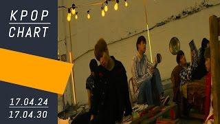 K-POP CHART | M COUNTDOWN (17.04.24 ~ 17.04.30) - Top 40